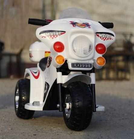Mini Motocicleta electrica cu 3 roti LQ998 STANDARD #Alb