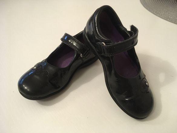 Clarks лачени обувки, балеринки 16 см