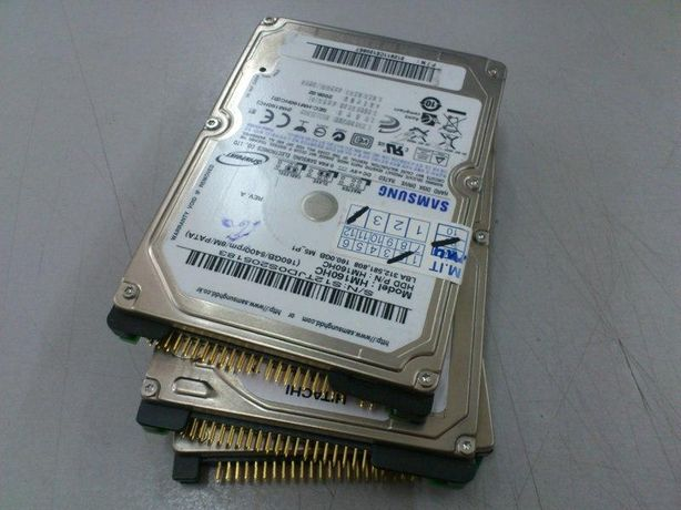 "Hard Disk 40 Gb Laptop IDE PATA ATA 60 Giga 2,5"" 80 HDD Testat 100%"