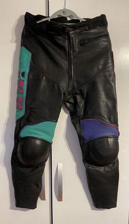 Pantaloni piele moto ixs