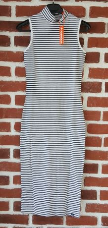 Superdry-34(XS)-Midi Dress Оригинална дамска рокля размер