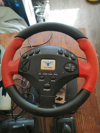 Игровой руль для PlayStation 1/ PlayStation 2