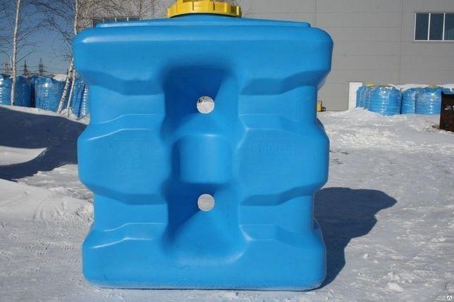 Емкость прямоугольная для воды, топливный бак, бочка от 500 до 5000л