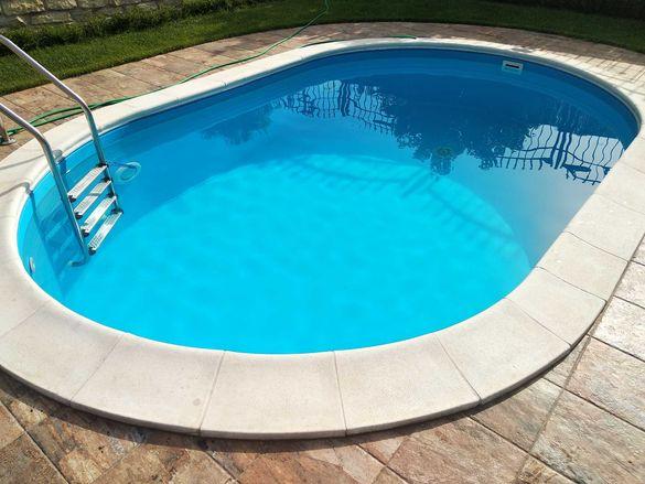 Сглобяем басейн 8 x4x1.50см