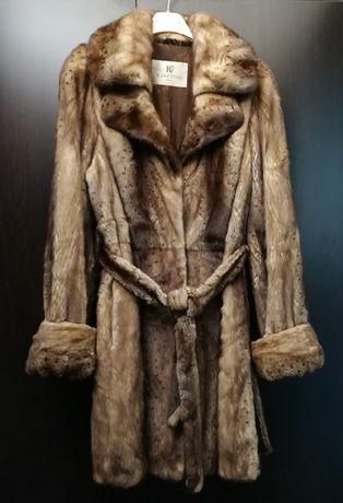 Кожено палто от норка