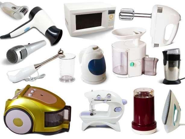 ремонт мясорубок, микроволновок и телевизоров утюгов парогенераторы тд