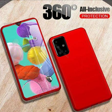 Кейс 360° Градуса Мат за Samsung Galaxy A21s A41 A51 A71 A32 A52 A72