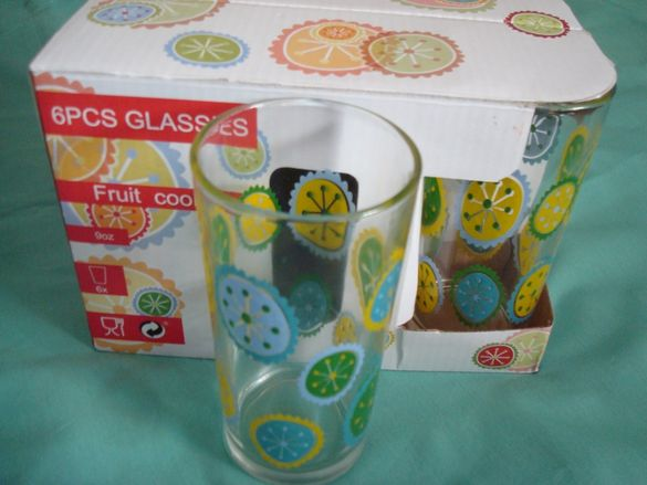 Нови Стъклени чаши -Разпродажба