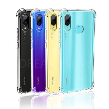 Huawei P20 P20 Lite P20 Pro Husa Ramforsata Silicon Transparenta