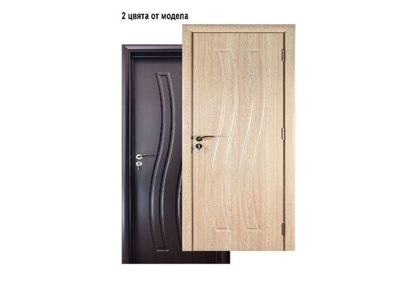 Евтина Интериорна Врата , Венге , Светъл Дъб , от МДФ , в Промоция