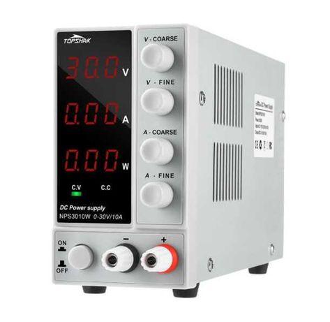 Лабораторно захранване 30V 10A NPS3010W захранващ блок