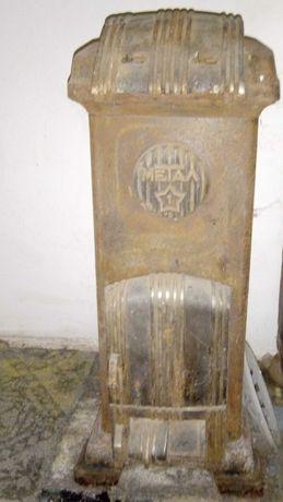 старинна печка на твърдо гориво- Метал 1 - ретро