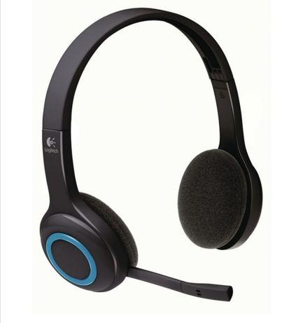 Гейминг слушалки Logitech H600 - черни