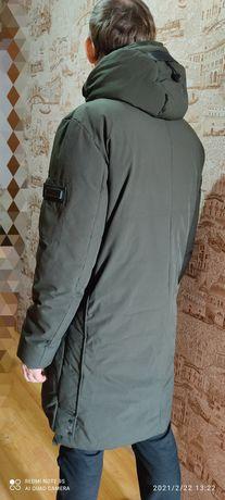 Длинная мужская куртка 52 размер