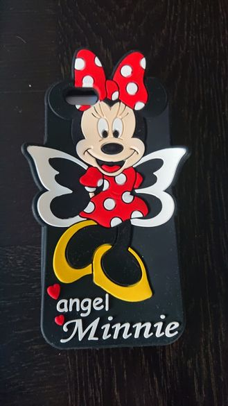 Мини силиконов кейс зс IPhone 6/6s Minnie Mouse Disney