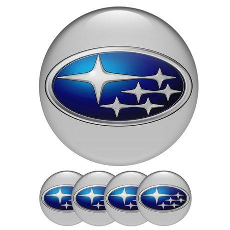 Силиконови стикери за капачки на джанти Субару/Subaru размери 40 до 90