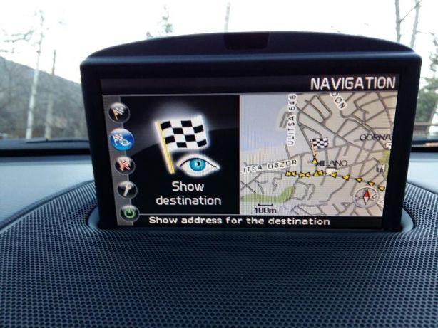 Harta DVD Volvo XC90 C30 C70 S40 V50 MMM+ Full Europa + Romania 2021