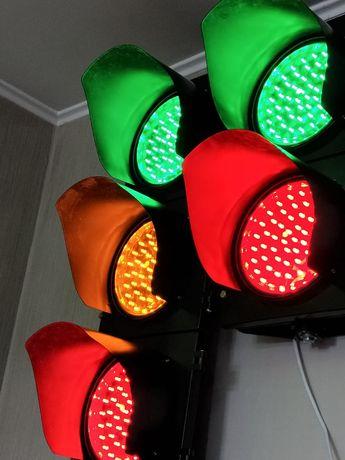 Транспортные и пешеходные светофоры