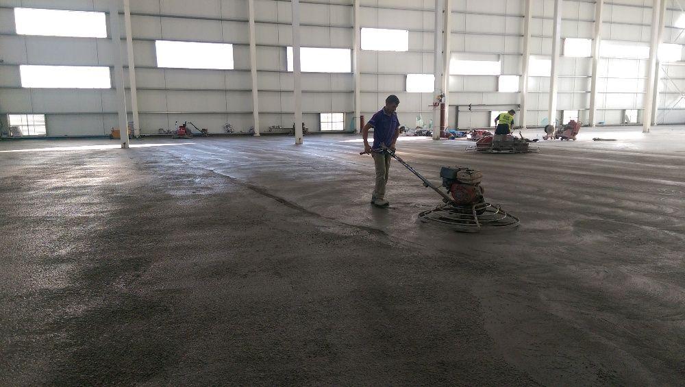 Pardoseli industriale din beton elicopterizat sau rasini epoxidice Slatina - imagine 1