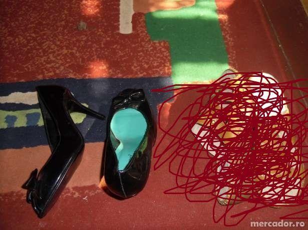 pantofi lac noi ieftini