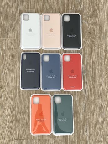 Husa originala apple silicone case iphone 11 11 pro 11 pro max x xs
