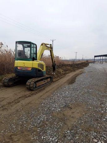 Miniexcavator Bobcat Excavator Sapaturi Santuri Fundatii Transport