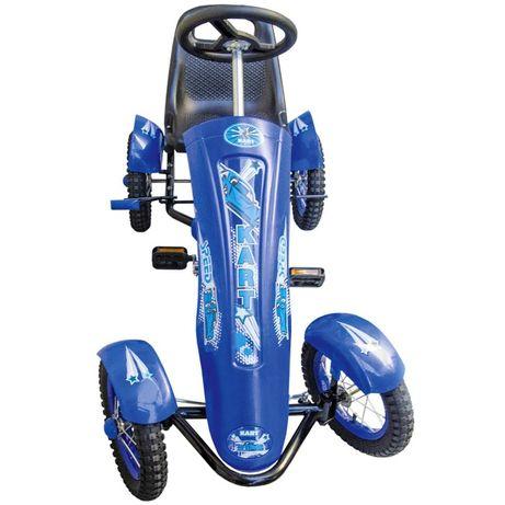 Kart copii cu pedale DF120 roti cauciuc cu camera,4-9 ani,scaun regl