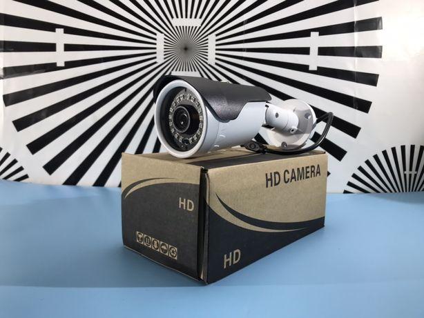 Камера видеонаблюдения AHD 3 MP уличная в металле