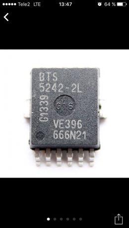 Микросхема BTS 5242-2L Для блока комфорта
