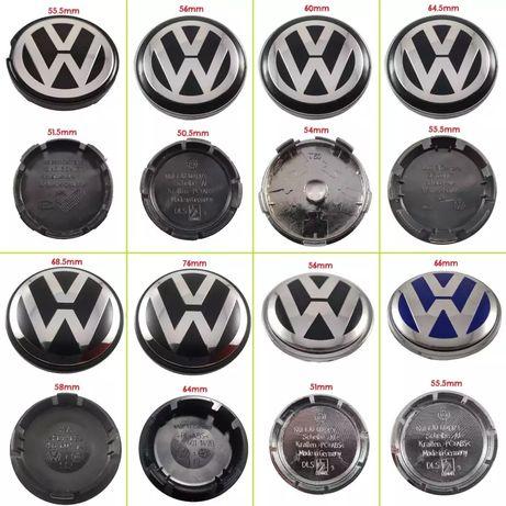 Capace pentru jante aliaj - set 4 capace VW
