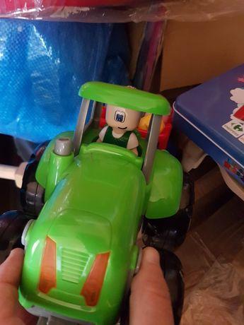 tractor cu animale cu baterii