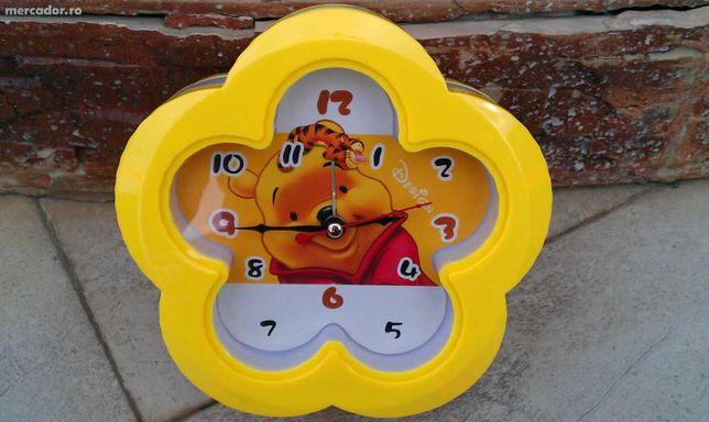 Ceas perete/birou Winnie, Sponge Bob sau Snoopy