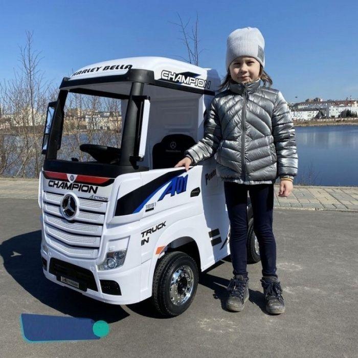 Акумулаторен камион Mercedes ACTROS Licensed 4X4, батерии 2X12V с MP4