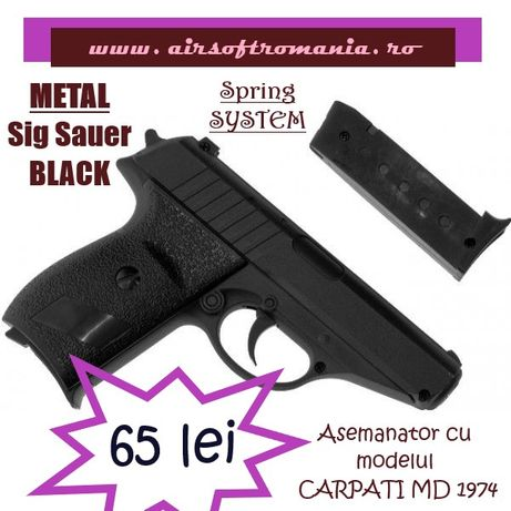 Pistol tip CARPATI MD 1974 arc METAL airsoft calibru 6mm