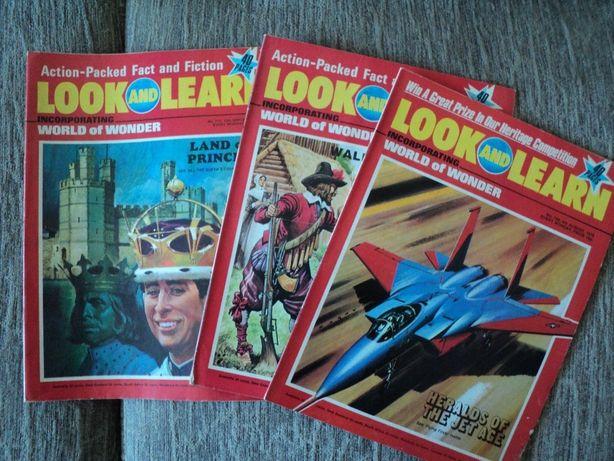 Revista LOOK & LEARN de cultura generala, excelenta pentru adolescenti
