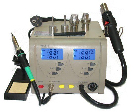 Statie de lipire+aer cald ZD-912