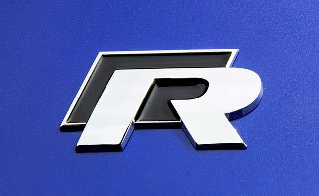 "Emblema / sigla metalica haion - Volkswagen Golf ""R"""