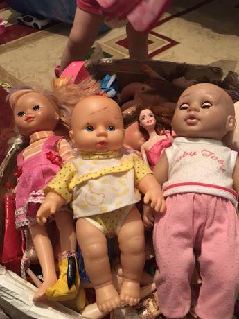 Игрушки куклы разные