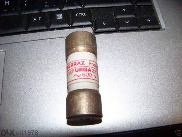 Предпазител-протистор- Electrical Fuses Ferraz Protistor N 098222,600V