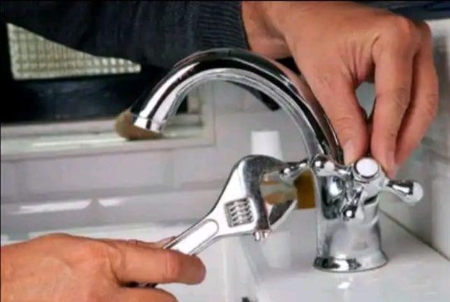 Сантехник чистка кухни, унитаза, прочистка канализации замена смесител