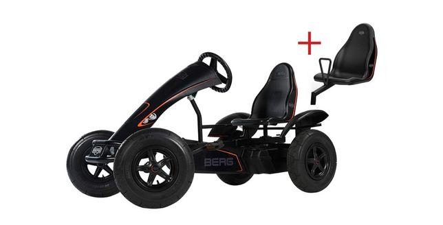 Kart, cart cu pedale pentru copii Berg Black Edition.