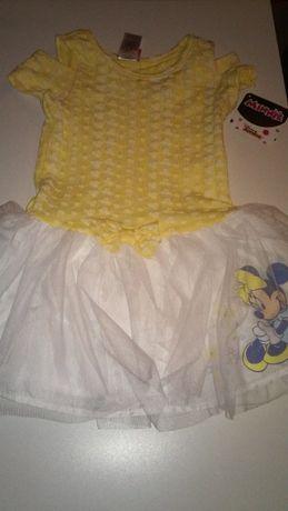 Детска рокля Minie Mouse Disney
