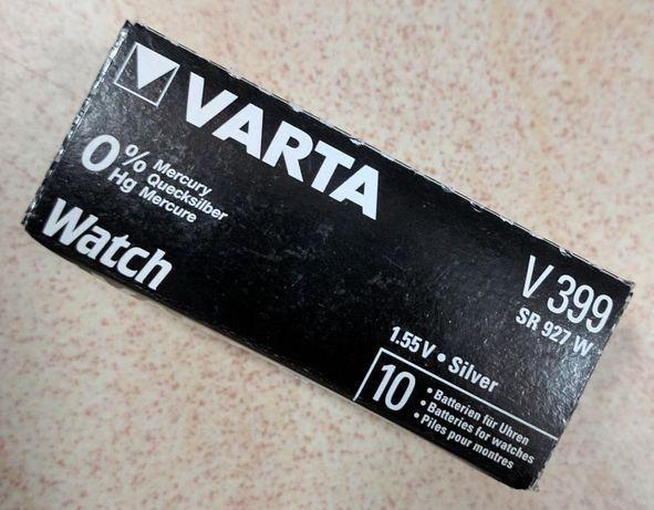 Батарейки для часов V399/SR57