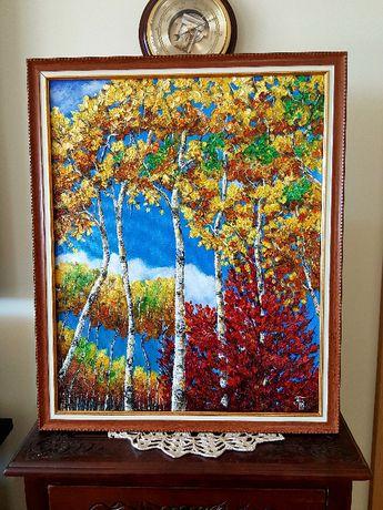 Акрилни и маслени картини . Цветя и пейзажи.