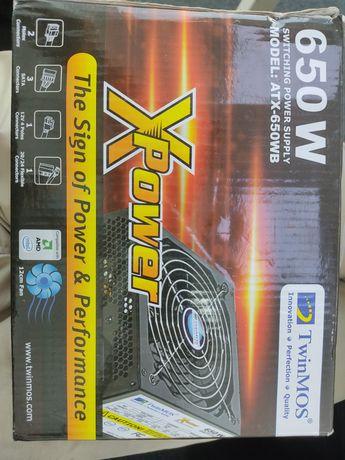 Новый Блок питания Twinmos ATX 650 WB