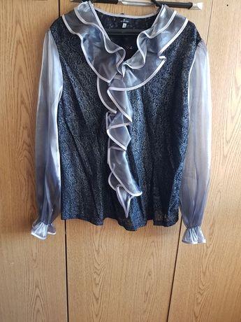 Страхотна дамска макси блуза дантела