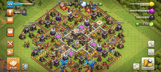 Clash of clans 11 тх