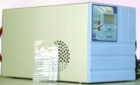 BU600 - Синусоидален ups за парно и пелетни камини. 600W