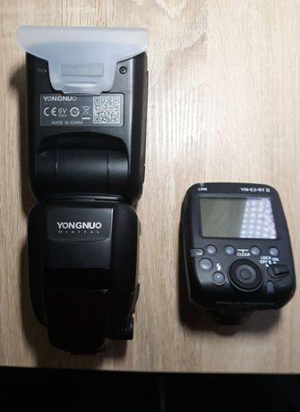 Yongnuo 600EX-RT II (2) + YN-E3-RT II (2) = Pentru Canon