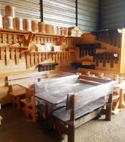 Мебель для бани и дачи. Столы и лавки
